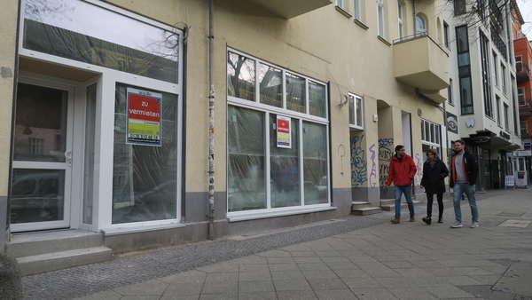 Neuausbau - Laden Lauflage Schönhauser Allee!
