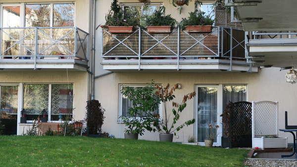 Ansprechende Gartenblick-Wohnung in Wilhelmsruh