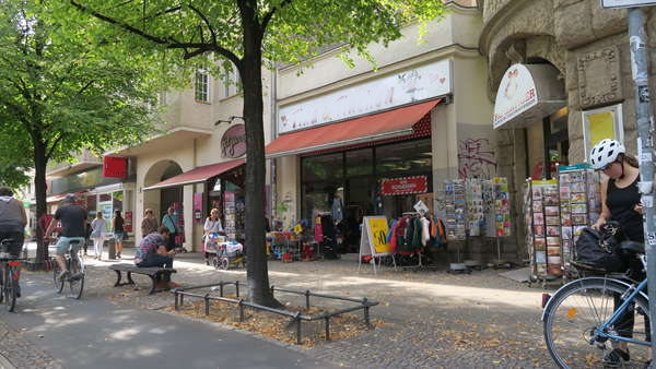 Gastrofläche in Lauflage Prenzlberg