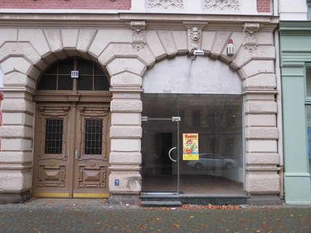 Ladenbüro in der Halberstädter Straße